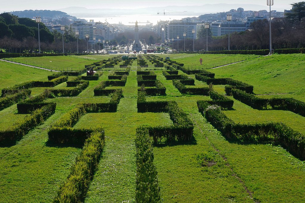 Parc Edouard VII, Lisbonne