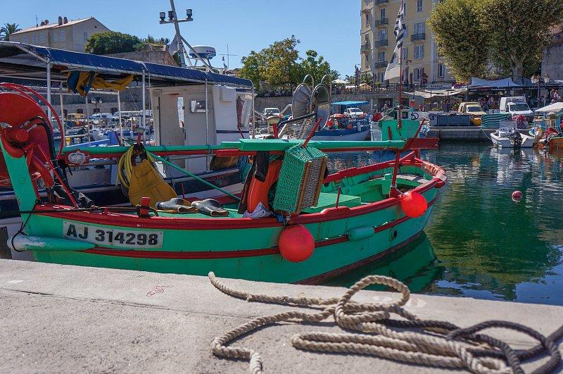 Le vieux port, Ajaccio