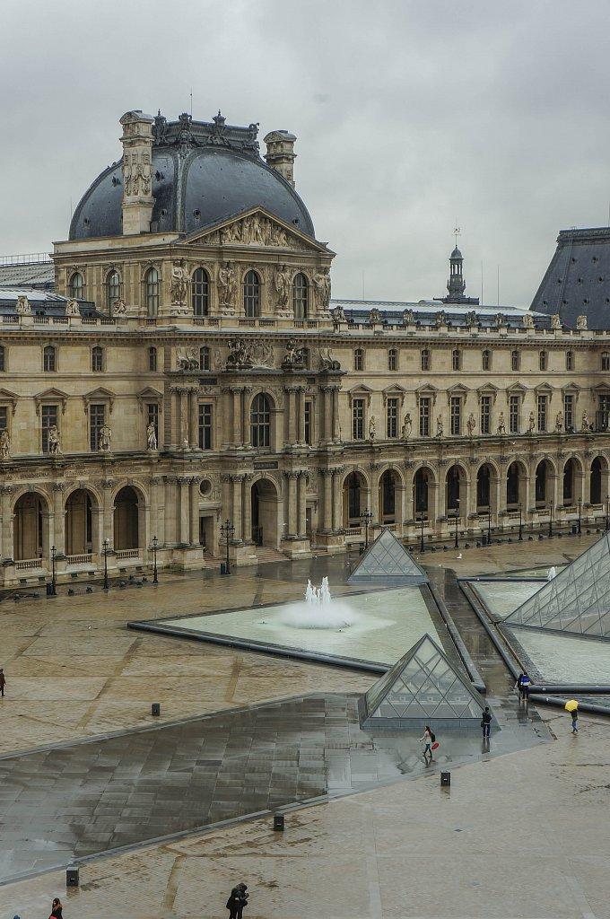 Cour intérieure du Louvre