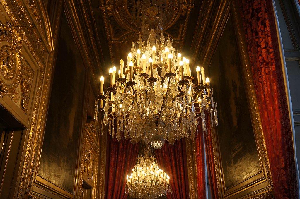 Appartements de Napoléon III - Lustres