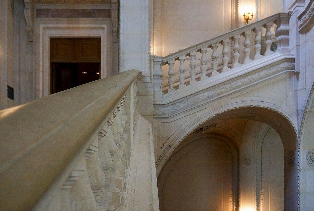 Louvre - Escaliers