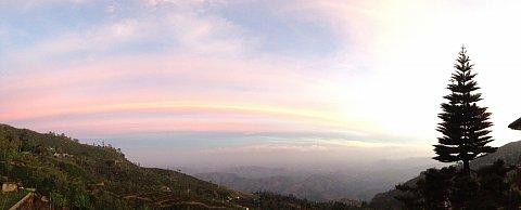 Haputale valley view