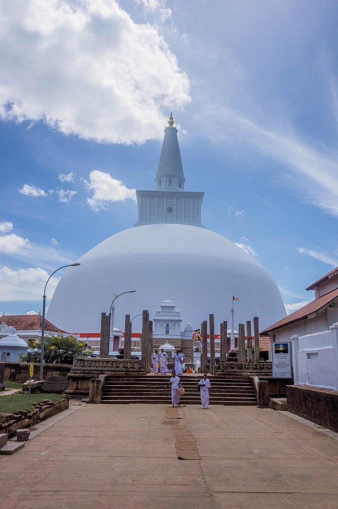Anuradhapura ancient city - Ruwanweli Saya