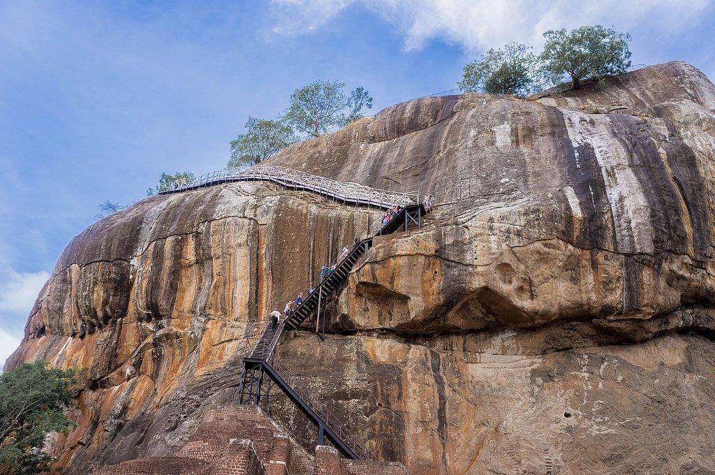 Sigiriya rock - Lion's Gate