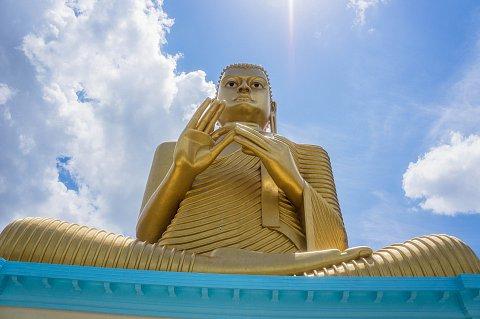 Dambulla Golden Buddha