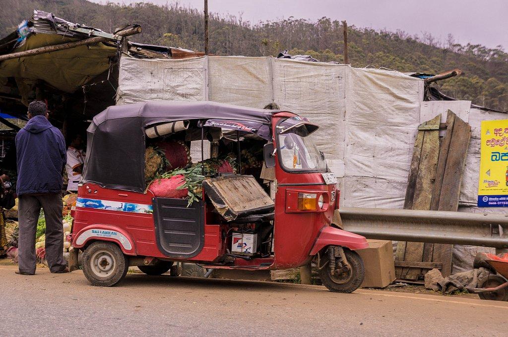 On the road to Haputale - Roadside sellers
