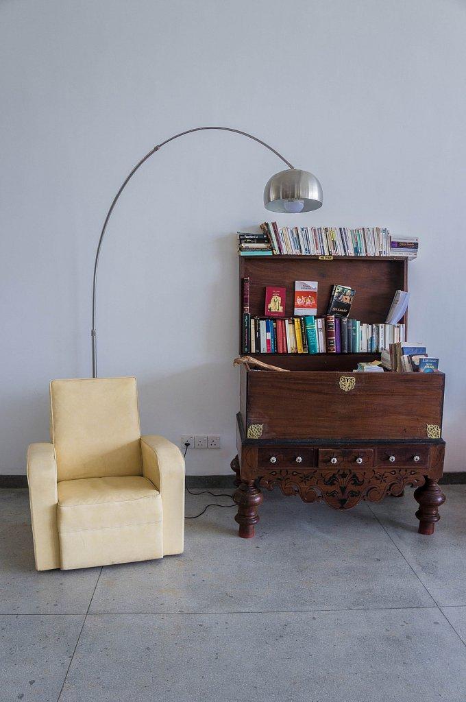 Mirissa - Esprit d'Ici hotel library