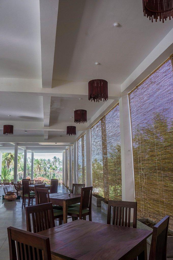 Mirissa - Esprit d'Ici hotel restaurant