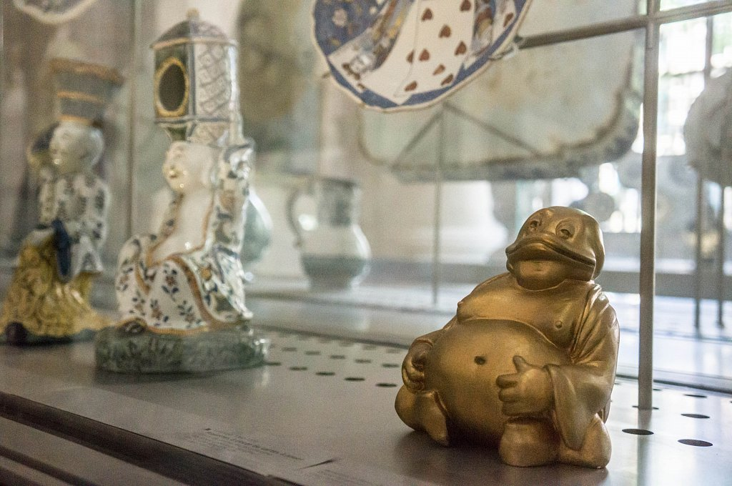 Bouddha souriant, par interDuck