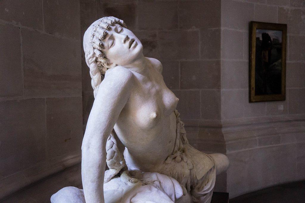 Sculpture de Cléopâtre, par Charles Gauthier