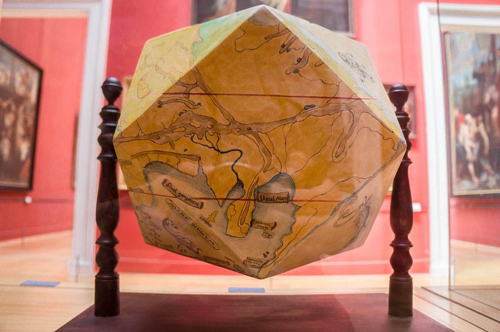 Carte du monde, Palais des Beaux-Arts de Lille