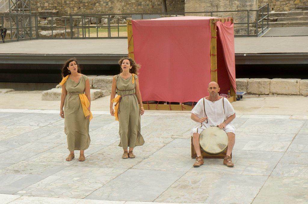 Arles - Spectacle dans l'amphithéâtre