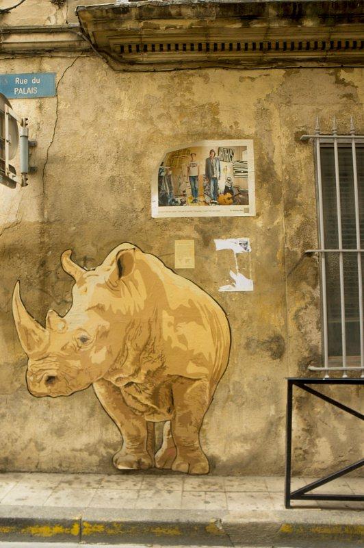 Arles - graffiti
