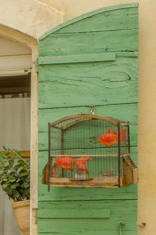 Arles - décoration de volet