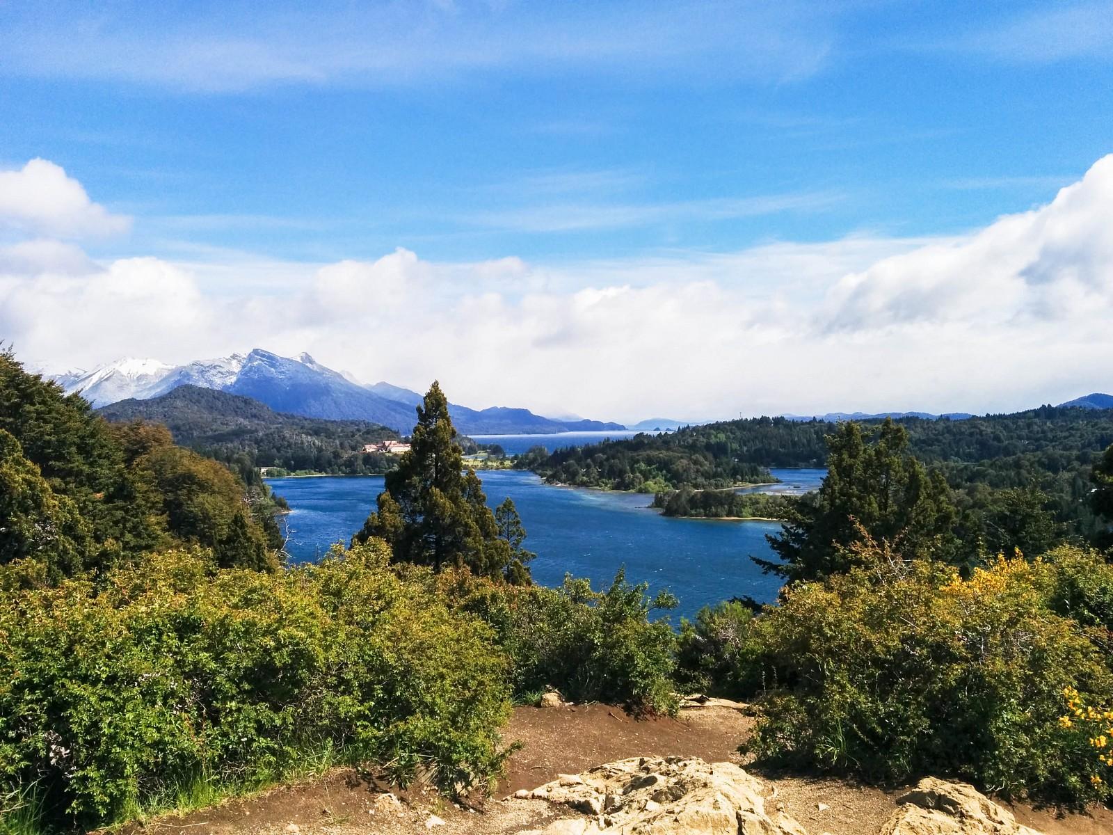 Bariloche, montagnes enneigées