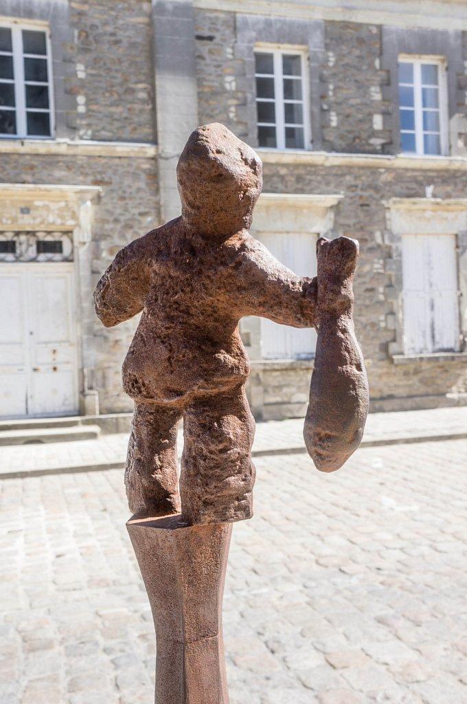 Guérande - sculpture