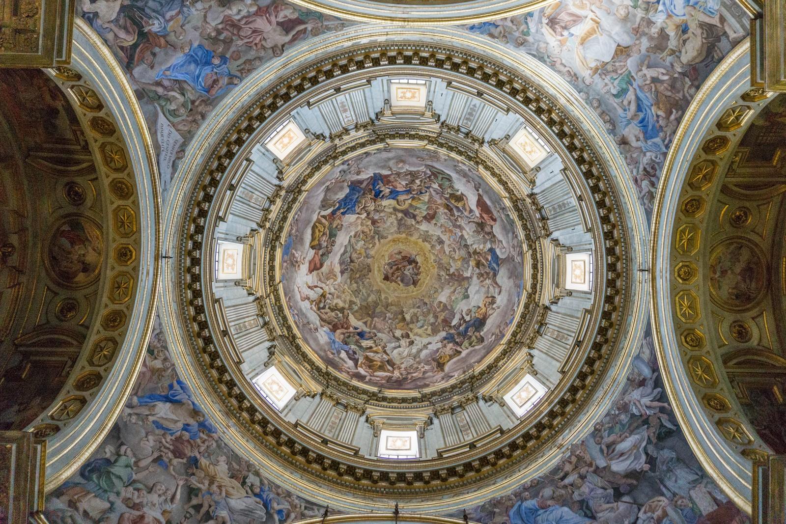 Plafond d'une église, Naples