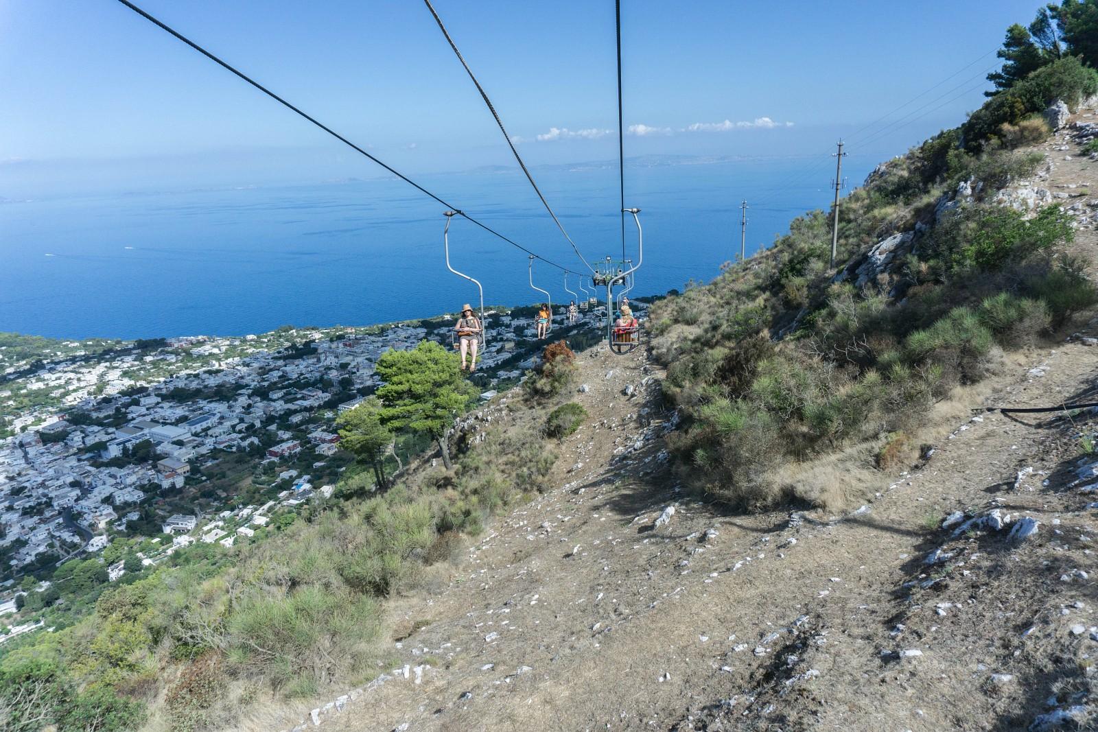 Télésiège, Capri