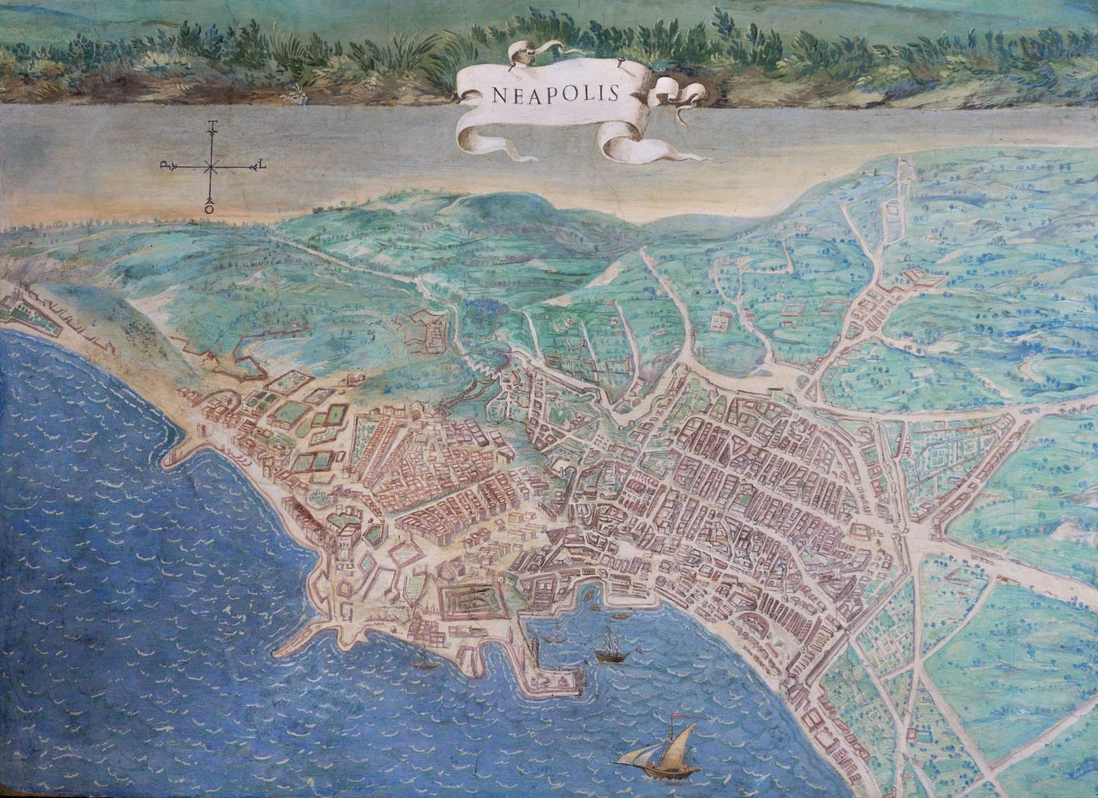 Carte de Naples, musée du Vatican