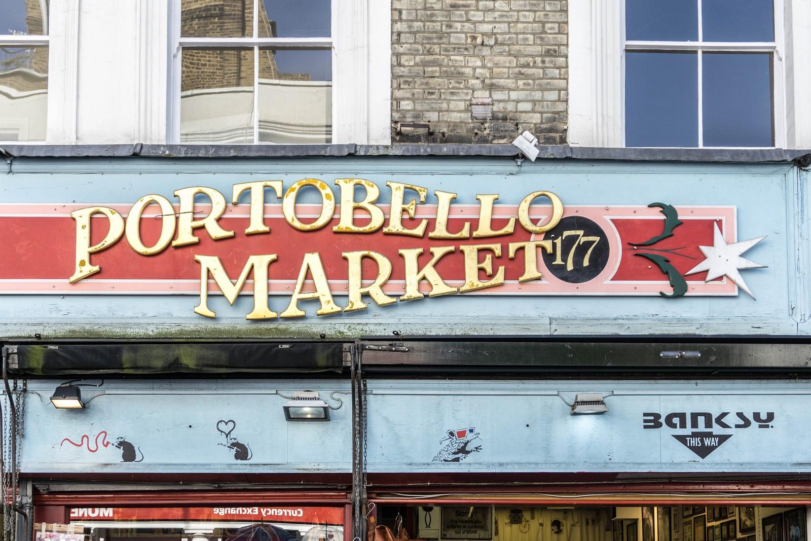 Portobello Market, Londres