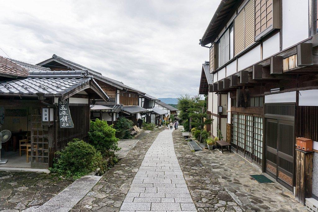 Nakasendo trail, Tsumago